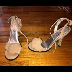 XOXO Sandal Heels